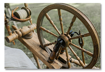 Spinning Wheel Antique